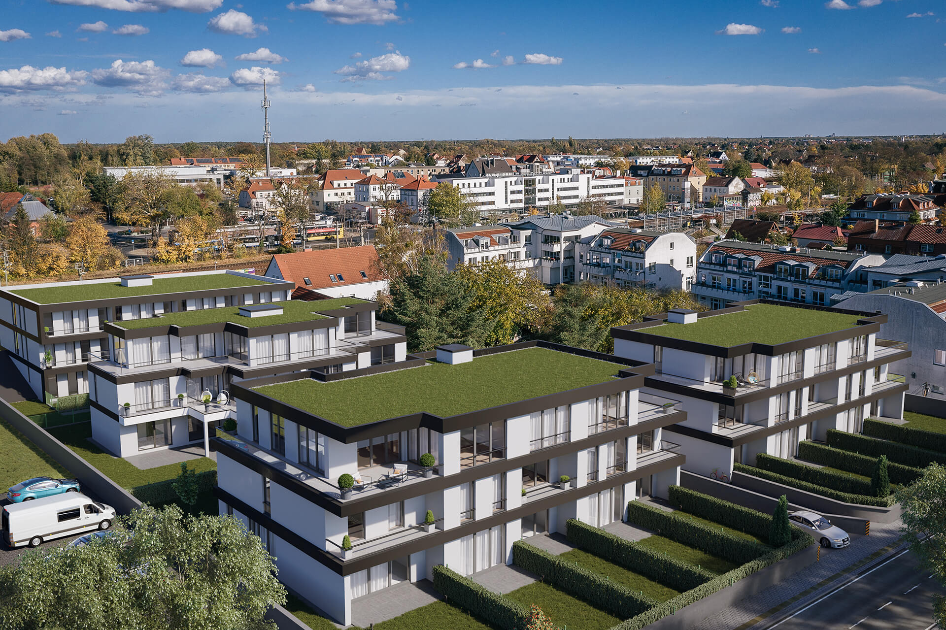 Residential building in Falkensee, Germany